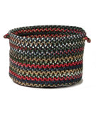RugStudio presents Colonial Mills Chestnut Knoll Ck97 Saddle Brown Basket Braided Area Rug